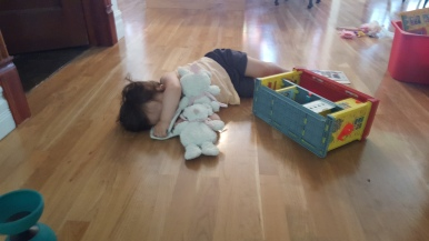 sieste improvisée